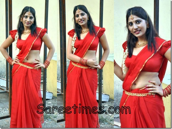 Reshmi_Red_Designer_Saree
