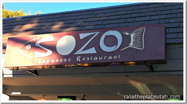 Sozo Sushi Sign
