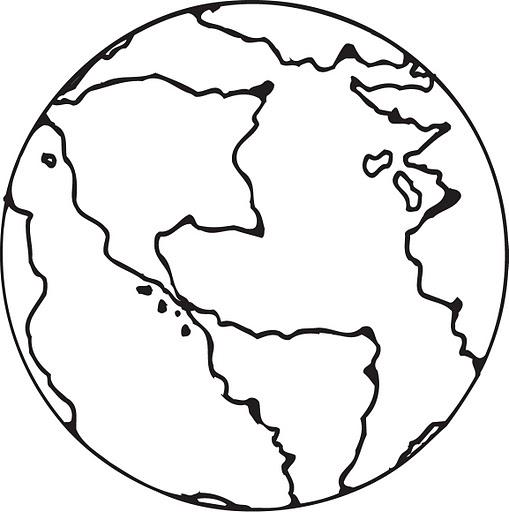 Dibujo Tierra Para Imagui