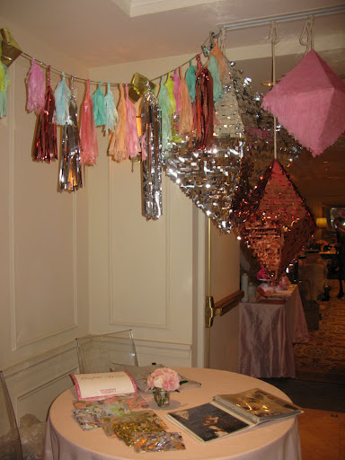 Confetti, pinatas, and ideas were on display from ConfettiSystem.