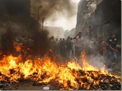 Quema_cerdos_Cairo ateismo