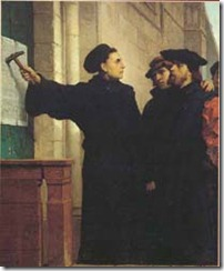 Luther 95 theses [http://commons.wikimedia.org]