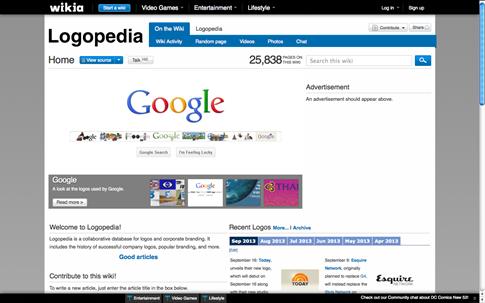 Logopedia - logos gratis de marcas conocidas