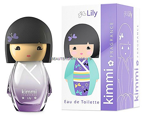 KIMMI LILY PERFUME EDT 50ml DOLL FRAGRANCES MIMI  NIKI KOTO PARFUMS FRANCE CUSTOM kimono SUMMER SEPHORA SINGAPORE ION ORCHARD BHG ALT base notes flora fruity, citrus refreshing yet sweet delicate fun scents playful sweet design