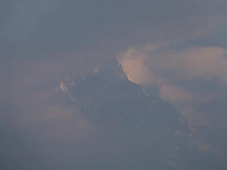 Annapurna in ceata