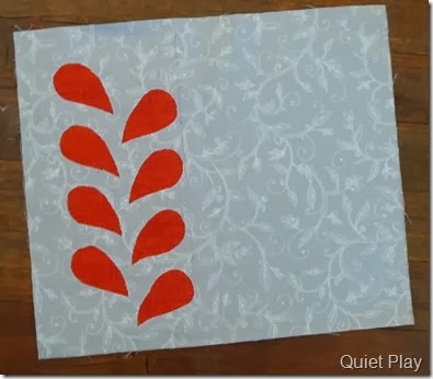 Reverse applique placemat