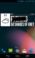 Screenshot of Grumpy Weather Widget