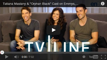 Orphan Black cast interview, Comic Con