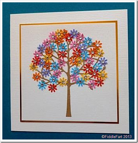 Floral Tree Arboscello Tree Die Memory Box