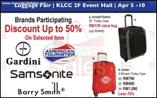 Isetan Luggage Fair 2013 Branded Shopping Save Money EverydayOnSales