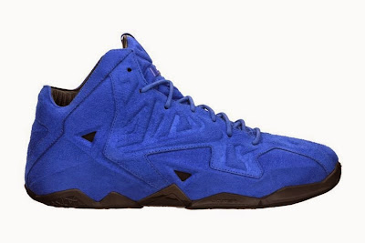nike lebron 11 nsw sportswear ext blue suede 7 01 Release Reminder: Nike LeBron XI EXT Suede QS