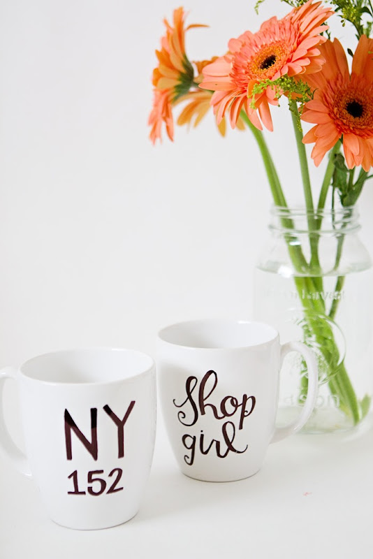 You've Got Mail DIY NY 152 and Shopgirl Mugs