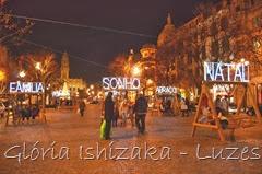 Glória Ishizaka - Luzes de Natal 2013 - Porto 3 - Aliados 3
