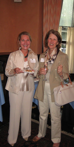 Members Cathleen Doonan and Carol Ann Hayes