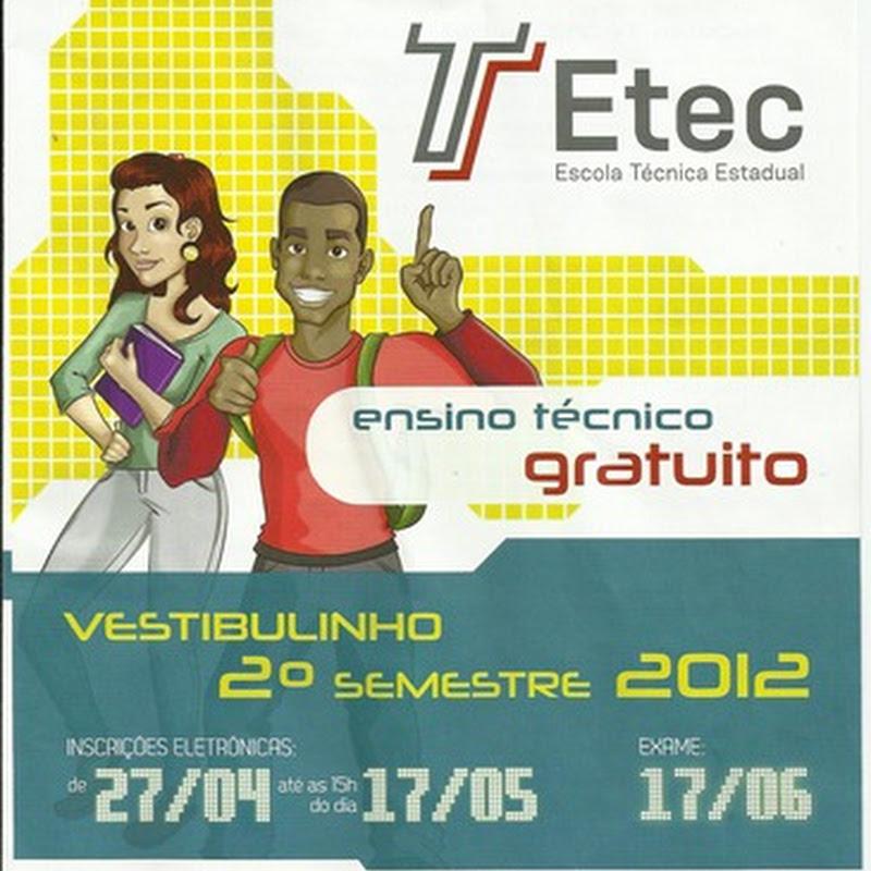 ETEC abre as inscrições para Vestibulinho.