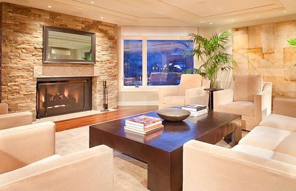 Plantas de salón que se lanzan detrás de su sofá tiene un cierto atractivo