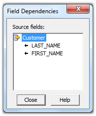Informatica PowerCenter Mapping Viewing Dependencies