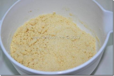 وصفة حلوى كعيكات قوس قزح (رينبو كب كيك) من by www.fattoush.me