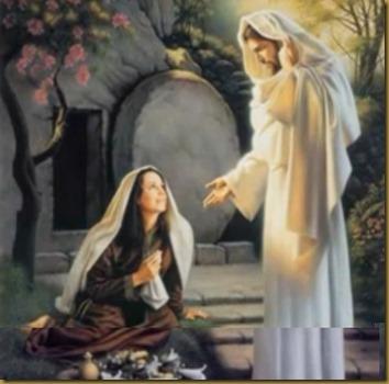 JESUS RESUCITADO Y MARÍA