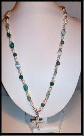 grønt smykke