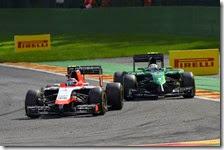 Marussia e Caterham iscritte al campionato 2015