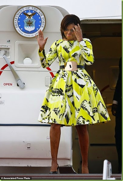 Japan US Michelle Obama