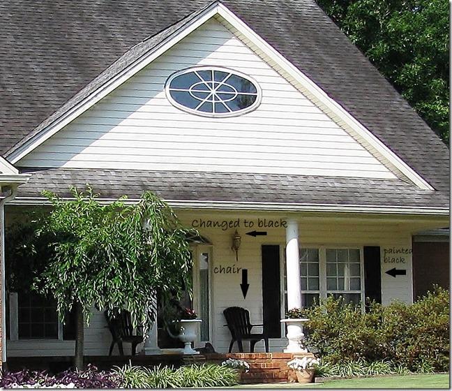 Front Porch Changes