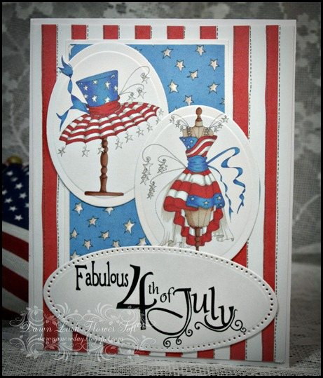 Fabulous 4th July Collection, Flower Soft