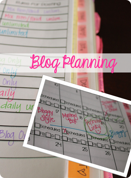 Best Blogging Calendar Ever to stay organized