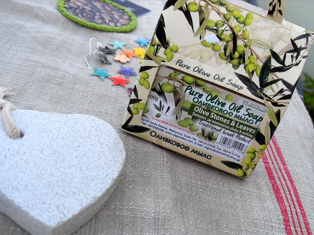 Olivensæbe og pimpsten