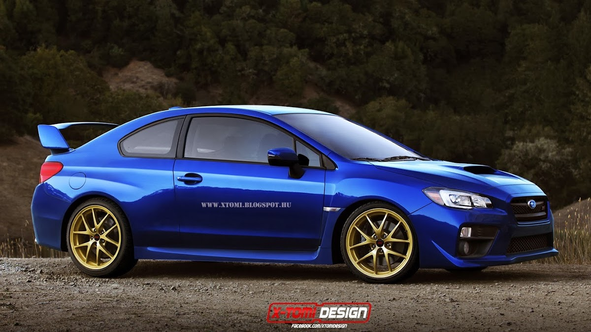 2015 subaru wrx sti reimagined as a coupe; should it be made?