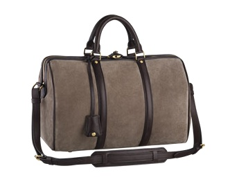This bag has so much richness -- the suede and the leather create so much luxury. (louisvuitton.com)