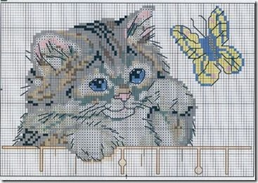 gatos-esquemas-ponto-cruz-motivos-cats-cross stitch-113