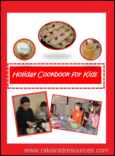 Free holiday cookbook to help students learn how to cook important holiday recipes.  Compiled by Raki's Rad Resources