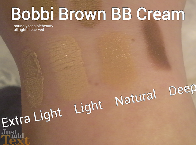 Bobbi Brown BB Cream Beauty Balm SPF 35 Swatches, Shades, Review, Extra Light, Natural, Deep