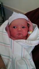 Samantha Lynn Akers newborn 5.3.2013
