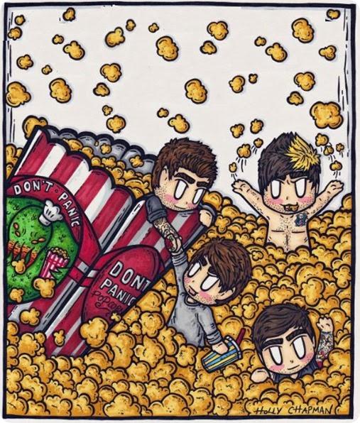 palomitas popcorn