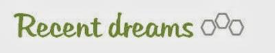 List 22 - recent dreams