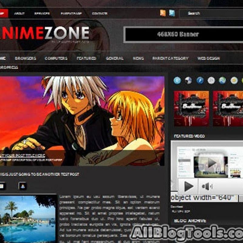 I migliori temi Blogger per creare un Blog dedicato ai Manga (Animazioni Giapponesi).