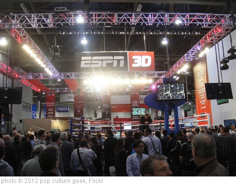 'CES 2012 - ESPN 3D boxing ring' photo (c) 2012, pop culture geek - license: http://creativecommons.org/licenses/by/2.0/