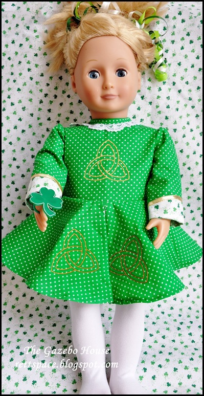 Irish Step-Dance Doll Dress 003