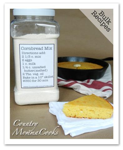 bulk cornbread mix