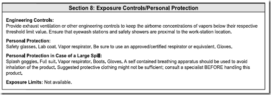 MSDS_ANSI_Section_8