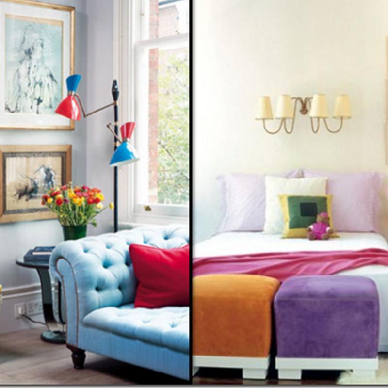 Colour Blocking with Makeup: Beyond Interiors...