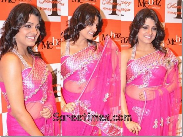 Tashu_Kaushik_Pink_Designer_Saree.