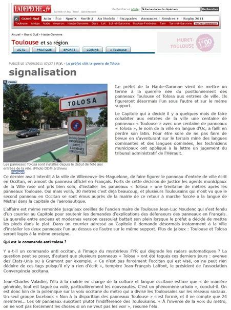 Tolosa DDM 170911