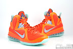 lebron9 allstar galaxy 19 web white Nike LeBron 9 All Star aka Galaxy Unreleased Sample