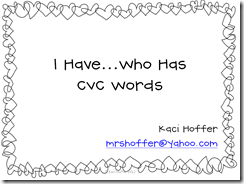 i have who has cvc