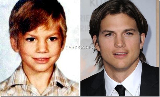 ashton-kutcher-fotos de criança