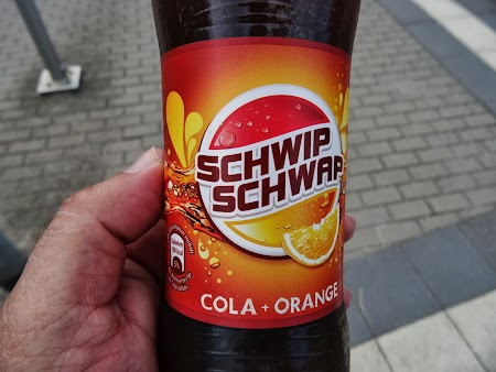 Soft drink Germania: Mix Cola - Fanta